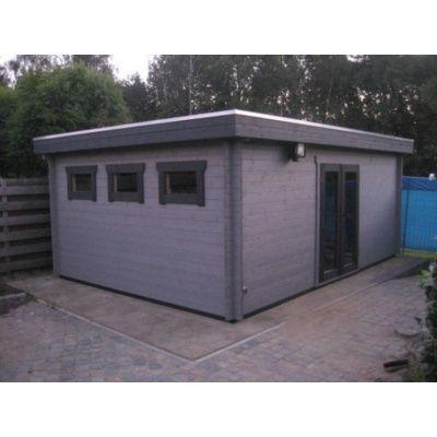 Bild 73 von Azalp Blockhaus Ingmar 350x400 cm, 45 mm