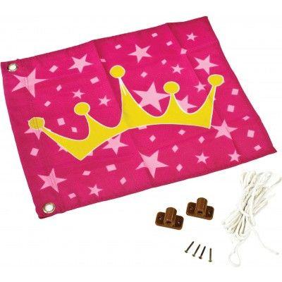 Hoofdafbeelding van Akubi Prinses vlag (82592)*