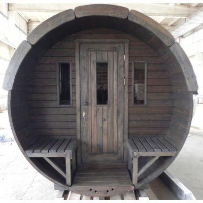 Afbeelding 7 van Azalp Barrel 190x250 cm, 45 mm Vuren