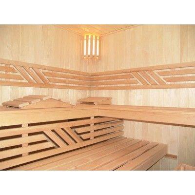 Afbeelding 37 van Azalp Saunabank recht, Elzen breedte 50 cm