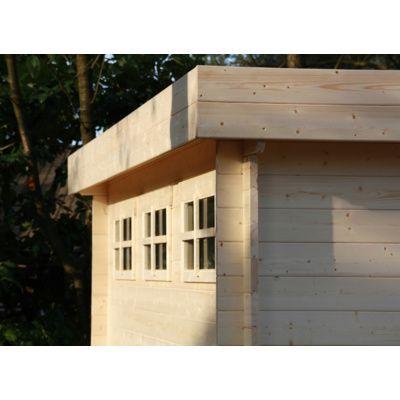 Bild 51 von Azalp Blockhaus Sven 450x450 cm, 30 mm