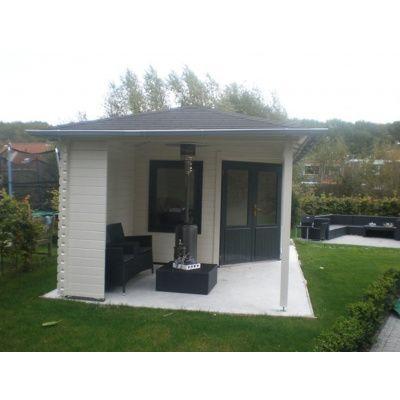 Bild 18 von Interflex Blockhaus 4355 Z, Seitendach 450 cm