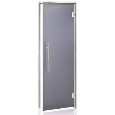 Hoofdafbeelding van Hot Orange Stoombad deur Au Premium 90x210 cm, mat grijs