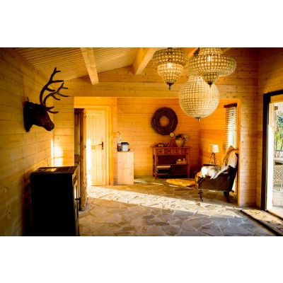 Bild 13 von Azalp Blockhaus Ben 600x700 cm, 60 mm