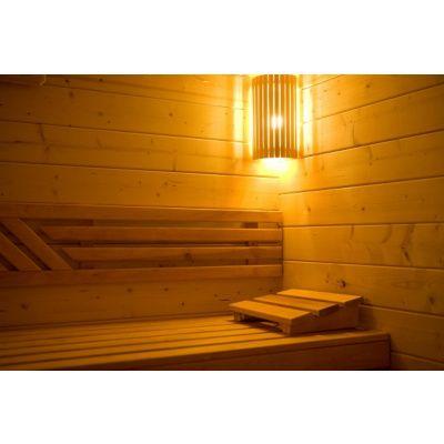 Afbeelding 15 van Azalp Massieve sauna Genio 240x230 cm, 45 mm