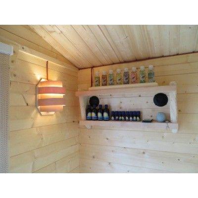 Afbeelding 4 van Azalp Sauna Toebehorenrek