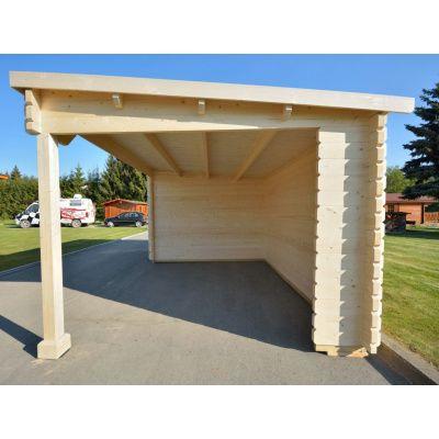 Bild 13 von Azalp Blockhaus Sanne 600x250 cm, 30 mm
