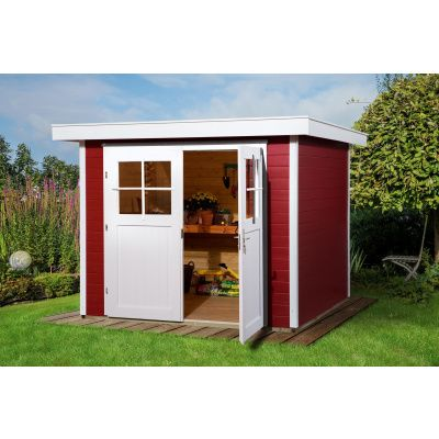 Hoofdafbeelding van Weka Tuinhuis 227 Gr. 2 Zweeds rood