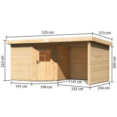 Afbeelding 3 van Woodfeeling Neuruppin 2 met veranda (77770)
