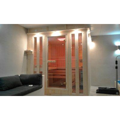 Afbeelding 8 van Azalp massieve sauna Alku 194x173 cm, 40 mm