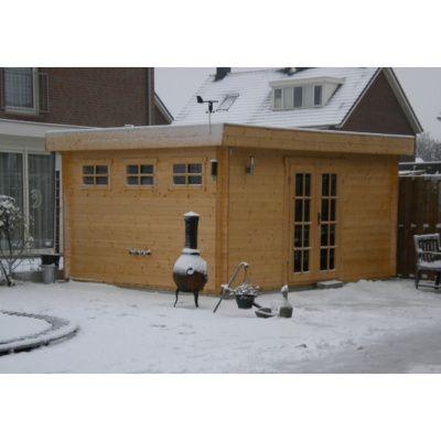 Bild 81 von Azalp Blockhaus Ingmar 596x596 cm, 45 mm