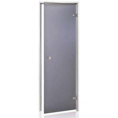 Hoofdafbeelding van Hot Orange Stoombad deur Au 90x210 cm, mat grijs