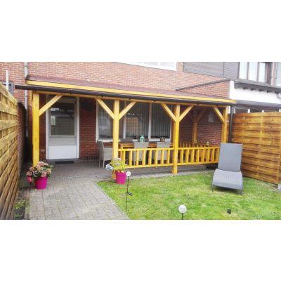 Bild 18 von Azalp Terrassenüberdachung Holz 550x350 cm