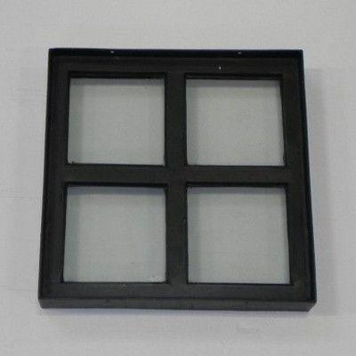 Afbeelding 2 van Azalp Stalen raam vast, 300x300 mm