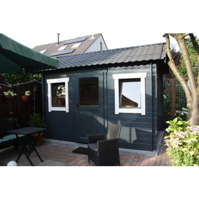 Bild 49 von Azalp Blockhaus Lis 450x300 cm, 45 mm