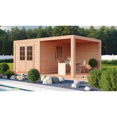 Hauptbild von WoodAcademy Sapphire Excellent Douglasie Gartenhaus 680x400 cm