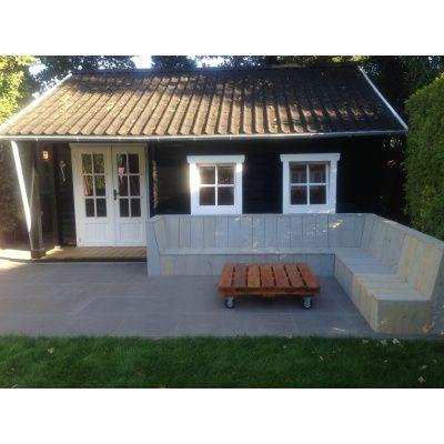 Afbeelding 61 van Azalp CLASSIC blokhut Cottage Style Cumberland 520x430 cm, 45 mm