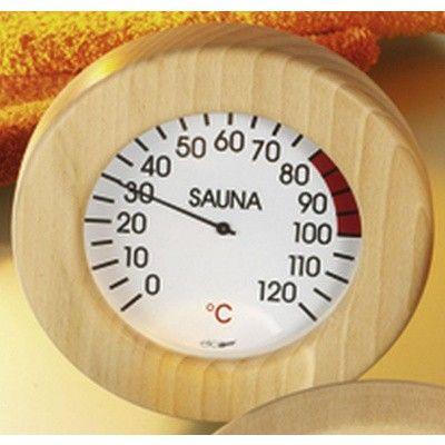 Hauptbild von Hot Orange Thermometer Holz-Weiss