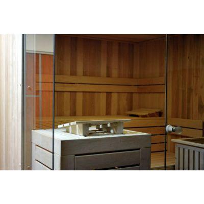Bild 5 von Azalp Facet Elementsauna 220x186 cm, Erle