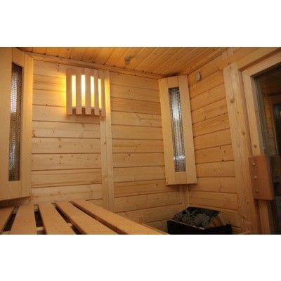 Afbeelding 42 van Azalp Massieve sauna Genio 190x190 cm, 45 mm