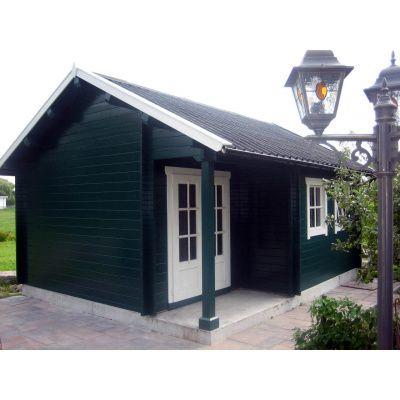 Afbeelding 36 van Azalp CLASSIC blokhut Cottage Style Cumberland 520x430 cm, 45 mm