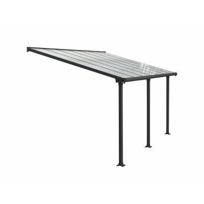 Hoofdafbeelding van Palram Olympia patio cover 3X4.25 grijs