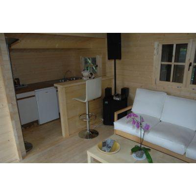 Bild 4 von Azalp Blockhaus Sequoia T-24