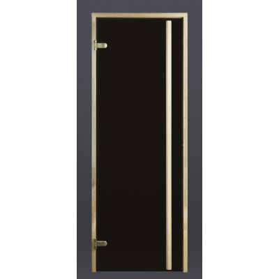 Afbeelding 6 van Ilogreen Saunadeur Exclusive (Elzen) 89x209 cm, bronsglas
