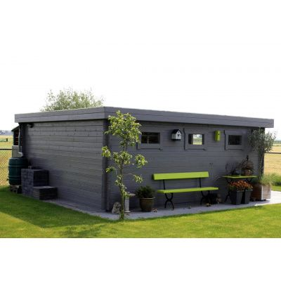 Bild 13 von Azalp Blockhaus Ingmar 500x300 cm, 30 mm