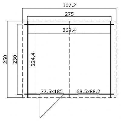 Afbeelding 2 van Outdoor Life Products Nina 230 (1009522)