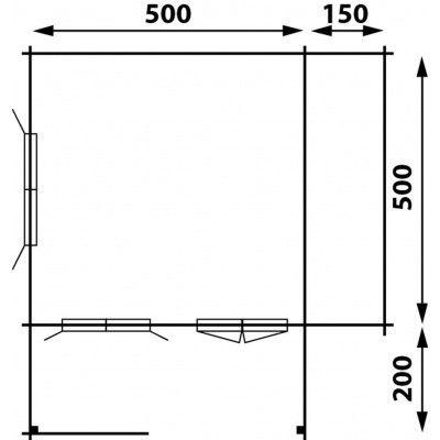 Afbeelding 6 van Interflex 5x5+2Z, geïmpregneerd