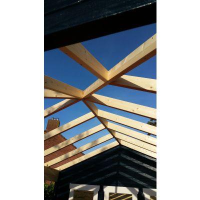 Bild 13 von Azalp Blockhaus Cas 590x300 cm, 45 mm