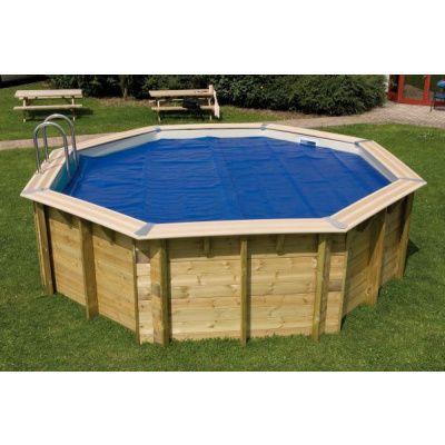 Afbeelding 2 van Ubbink zomerzeil voor Azura 410 cm (6-hoekig) rond zwembad