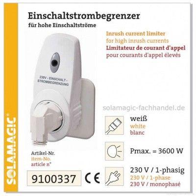 Afbeelding 2 van Solamagic Inschakelstroombegrenzer IP20 3600W SISB3600*