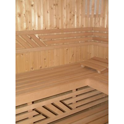 Afbeelding 16 van Azalp Saunabank recht, Elzen breedte 60 cm