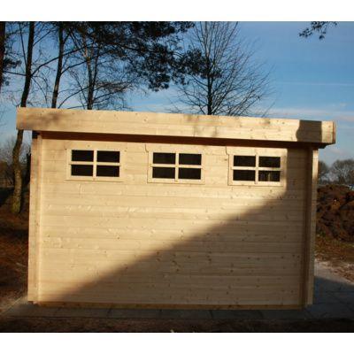 Bild 80 von Azalp Blockhaus Ingmar 350x400 cm, 45 mm