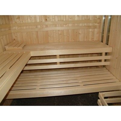Afbeelding 12 van Azalp massieve sauna Alku 152x238 cm, 40 mm