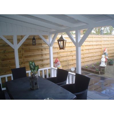 Bild 28 von Azalp Terrassenüberdachung Holz 600x250 cm