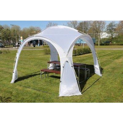 Afbeelding 7 van Orange Outdoor Iglo Dome tent 3.5x3.5m wit