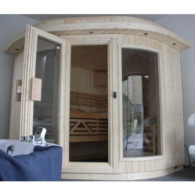 Bild 7 von Azalp Sauna Runda 280x220 cm, Fichte