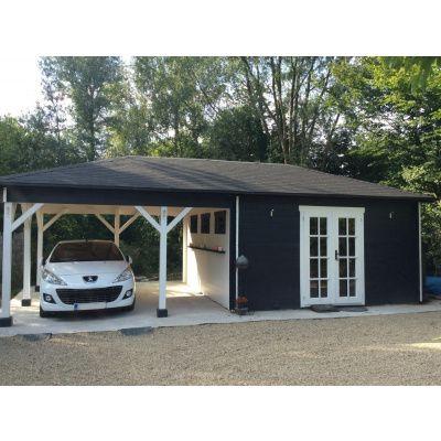 Bild 6 von Azalp Blockhaus Cas 790x400 cm, 45 mm