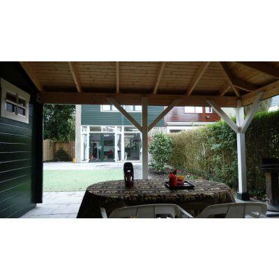 Bild 2 von Azalp Blockhaus Cas 790x400 cm, 45 mm