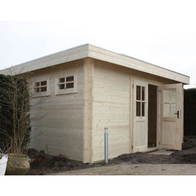 Bild 36 von Azalp Blockhaus Ingmar 350x400 cm, 45 mm