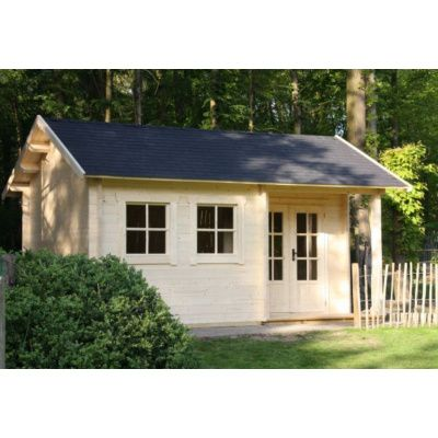 Afbeelding 13 van Azalp CLASSIC blokhut Cottage Style Cumberland 520x430 cm, 45 mm