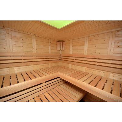 Afbeelding 3 van Azalp Sauna Luja 230x230 cm, 45 mm