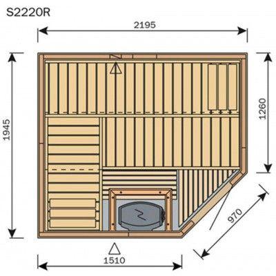 Afbeelding 8 van Harvia Sauna Variant Line S2220R