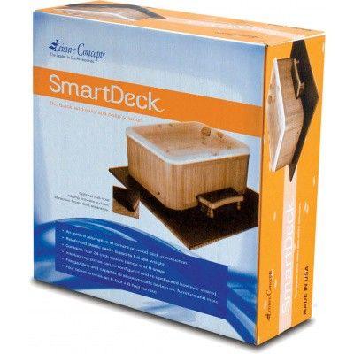 Afbeelding 6 van Leisure Concepts SmartDeck 240 x 240 cm inclusief TrimKit