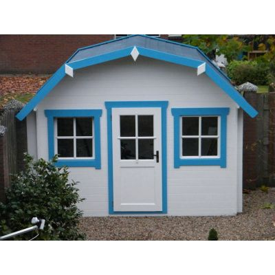 Bild 3 von Azalp Blockhaus Yorkshire 550x550 cm, 45 mm