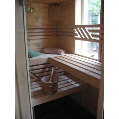 Afbeelding 5 van Azalp Massieve sauna Genio 240x190 cm, 45 mm
