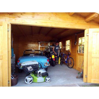 Afbeelding 34 van Azalp Garage Thijs 470x570 cm, 95 mm
